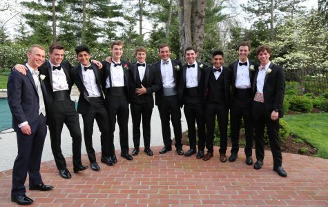 Class of 2018 seniors smilie with their bowties. Which ones are pre-tied?