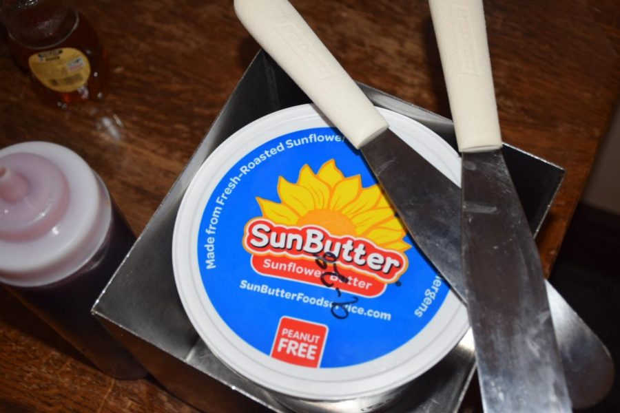 SunButter option in the lunch room