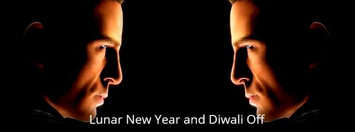 Lunar New Year and Diwali Off Head-to-Head