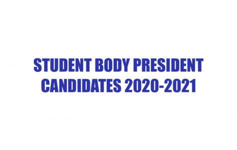 Get to Know Student Body President Candidates