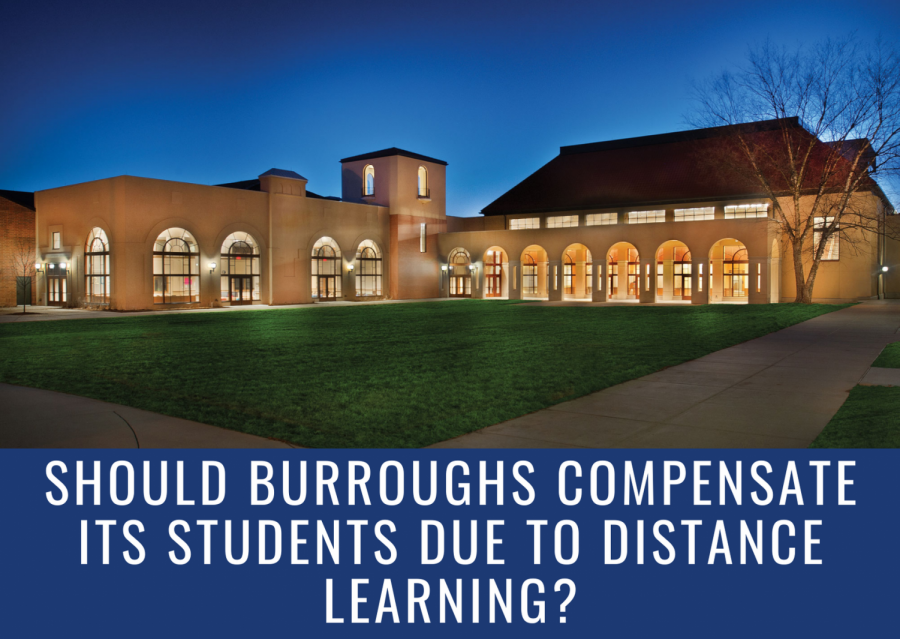 Should Burroughs Compensate its Students due to Distance Learning?