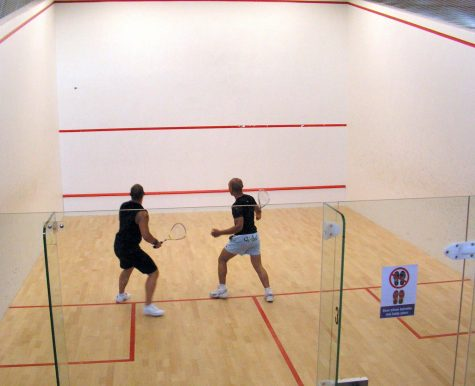 Squash Finds Support