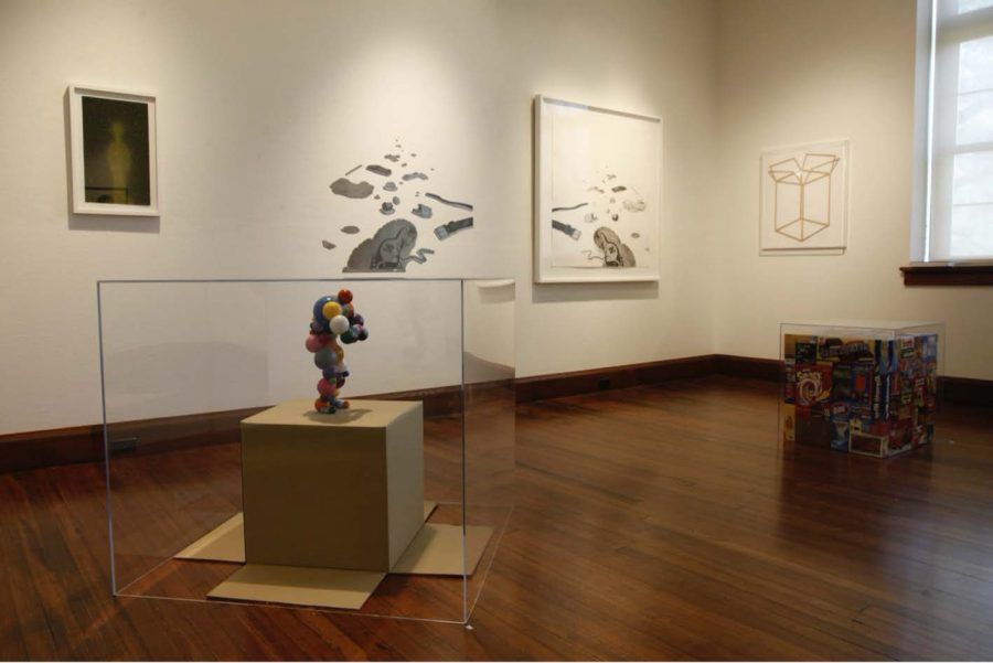2011: Tom Friedman retrospective in the Bonsack Gallery.